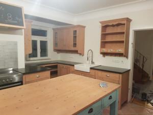 fertig aufgebaut 1Küche aus derSchreinerei Sedlmeier Rott am Inn