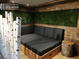 Sauna RuhebereichSchreinerei SedlmeierRott am Inn