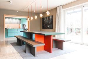 Tisch mit SitzbänkenSchreinerei Sedlmeier Rott am Inn