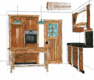 Schreinerei Sedlmeier Küche