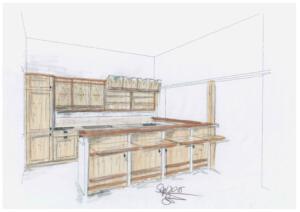 Trachtenheim Küche EicheSchreinerei SedlmeierRott am Inn