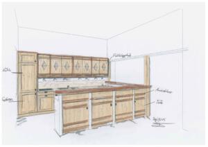 Trachtenheim Küche Eiche2